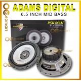 "Adams Digital Platinum Series 6.5 inch Mid Bass 250 Watts PSK 660M Car Speaker Mid Range Spiker Kereta 6.5"""