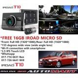 Alfa Romeo 155-iRoad T10 WIFI-LCD 2CH Blackbox Dashcam 16GB+GPS SET(WiFi Dongle, Uninterrupted Fuse Cable), FullHD(1080p), WIFI DVR Car Vehicle Video Recorder - Dash Camera Video Recorder Digital DVR Recorder